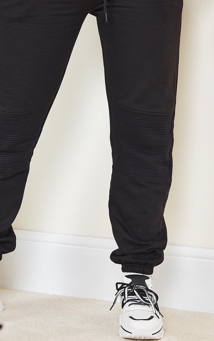 Shape - Jogging noir à parties contrastées 4