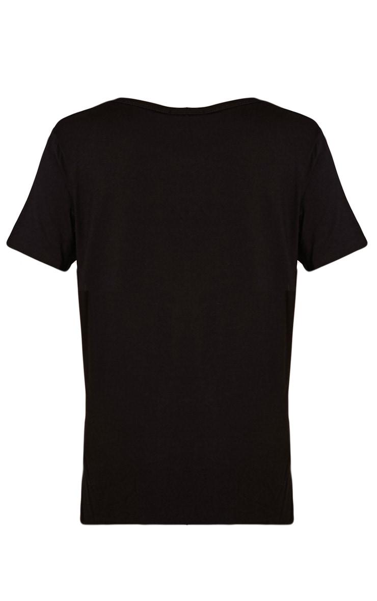 Paris Black Peace T-Shirt 2