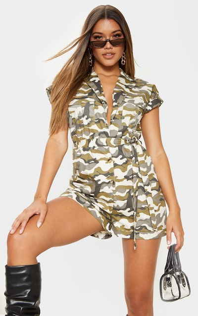 ccd115ffc32f5 Camo | Women's Camouflage Clothing | PrettyLittleThing AUS