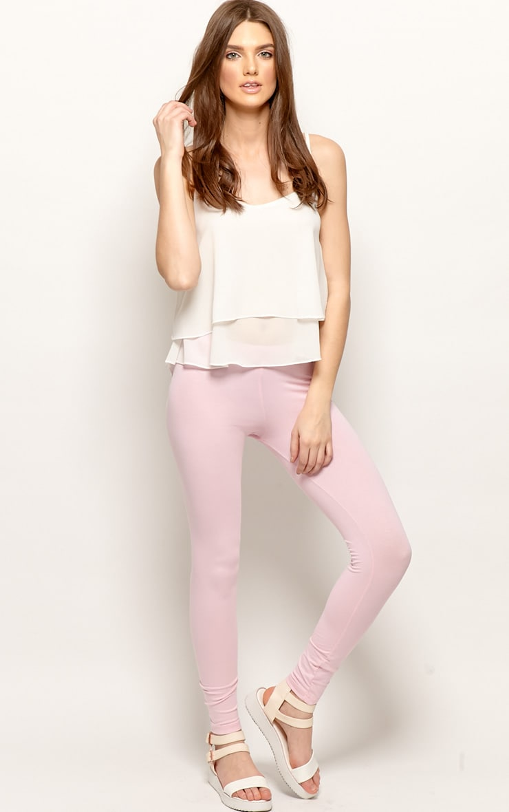 Harriet Pink Basic leggings-M 5