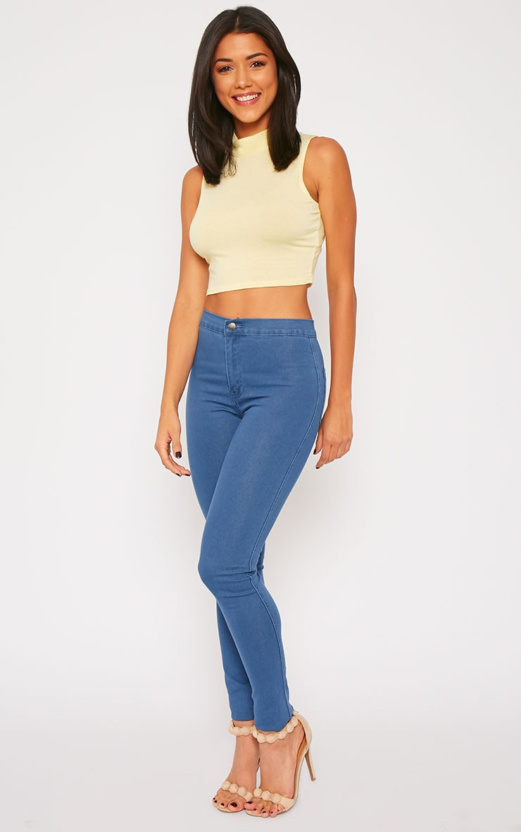 Jenna Blue Wash High Waist Jeans 5