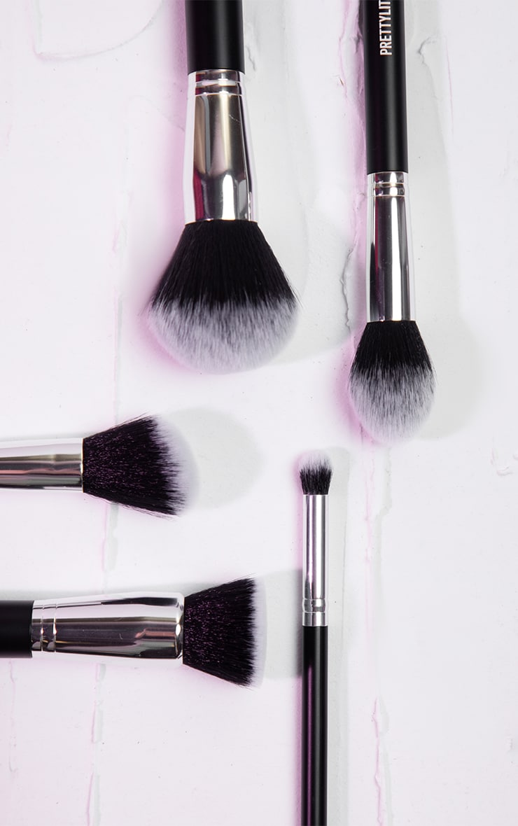 PRETTYLITTLETHING 5 Piece Face Brush Set 1