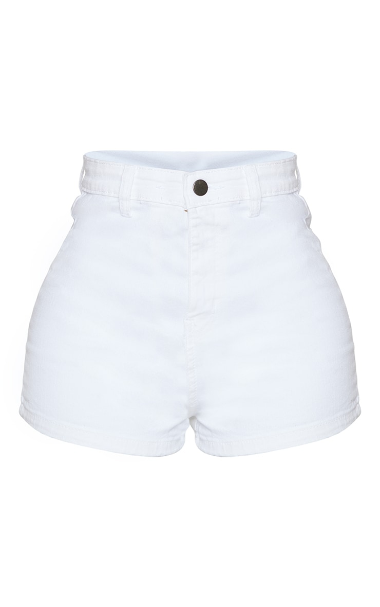 Shape White Disco Shorts 6