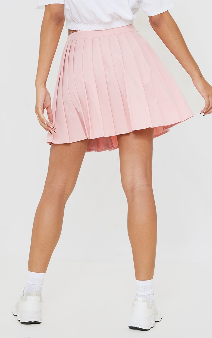Bubblegum Pink Peach Skater Skirt 3