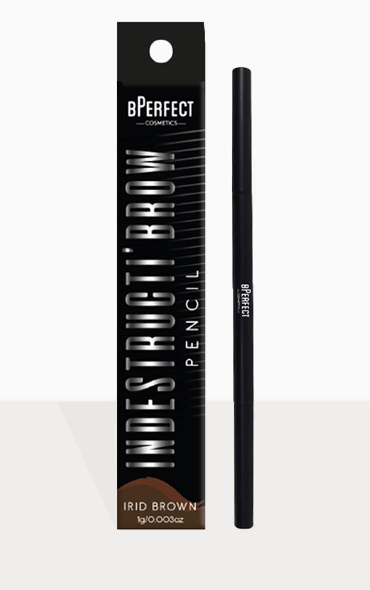 BPerfect Cosmetics Indestructi'brow Pencil Irid Brown 4