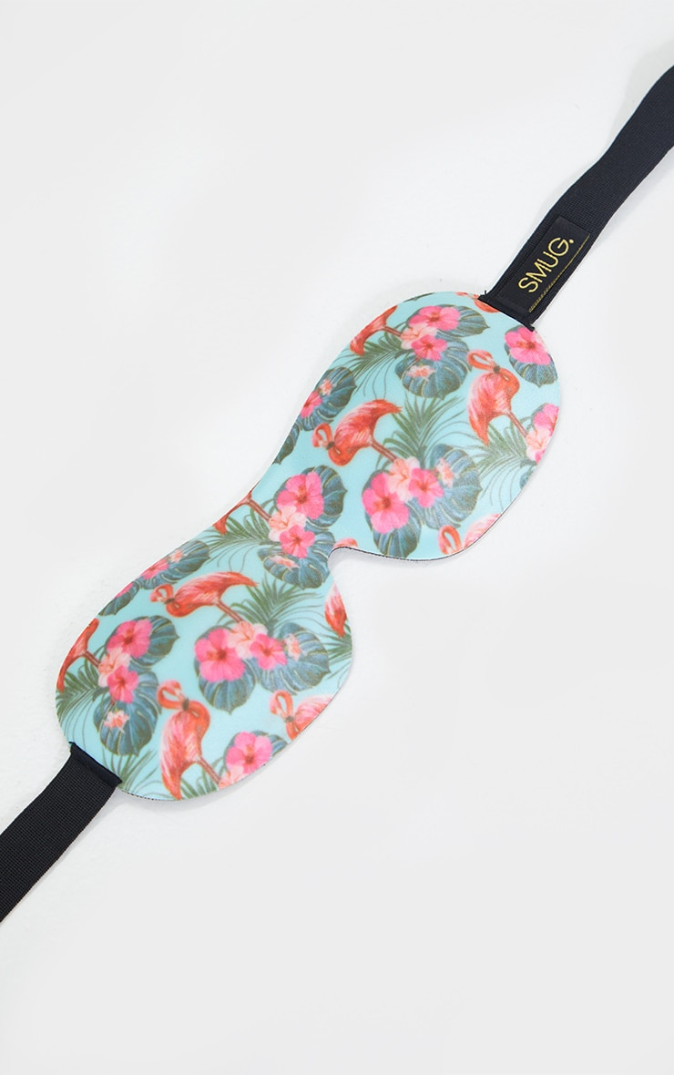 Smug Eyelash Friendly Sleep Mask Flamingo 3