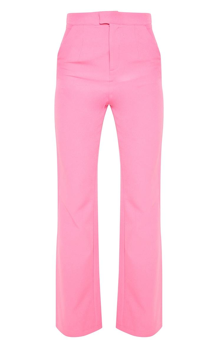 Pink Wide Leg Pants 3