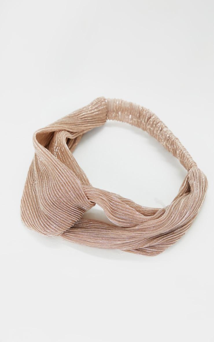 Pink Shimmer Headband 2