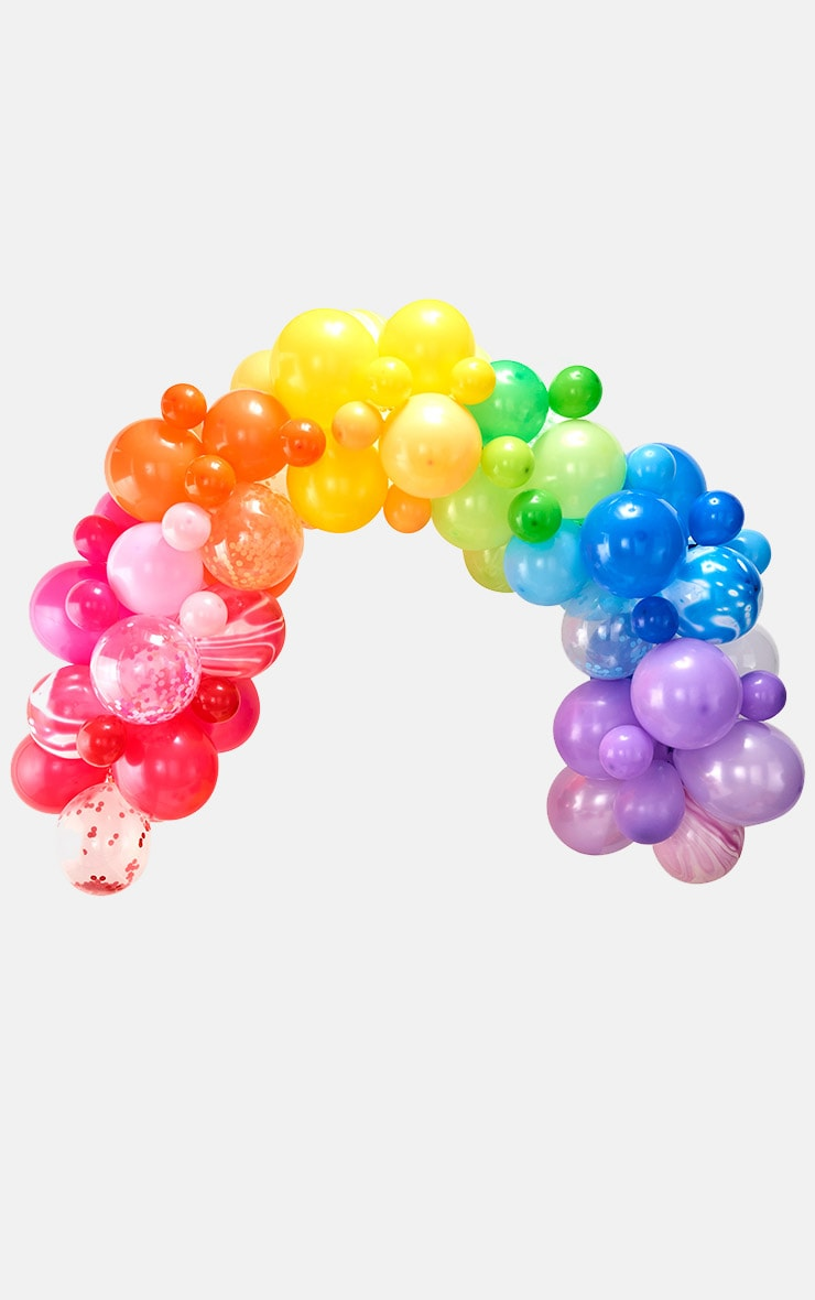 Ginger Ray Balloon Arch Rainbow 2