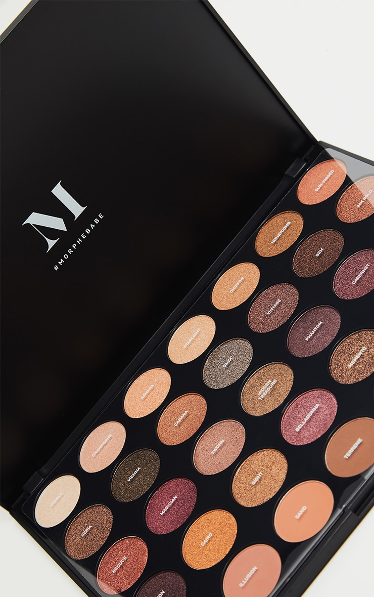 Morphe 35f Fall Into Frost Eyeshadow Palette 2