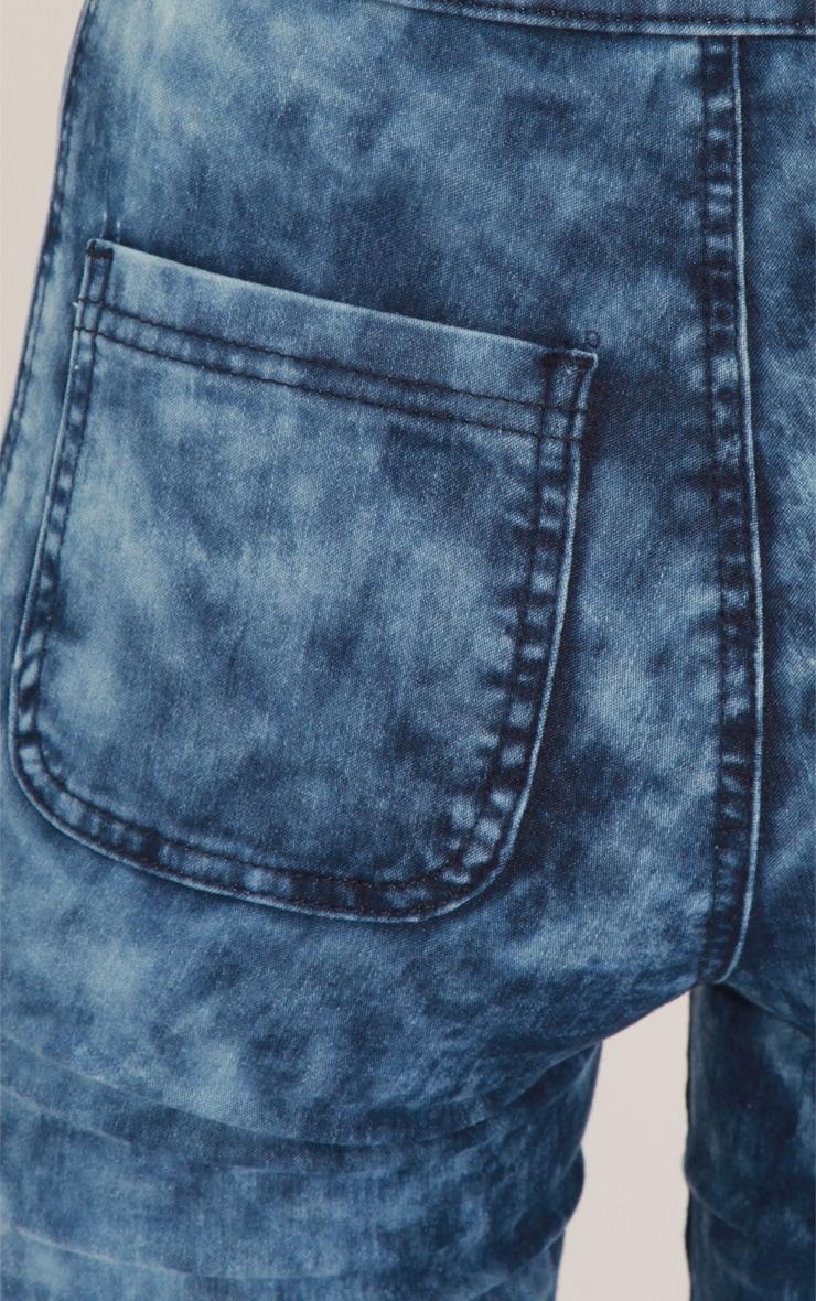 Annie Indigo Tie Dye Jeans 5