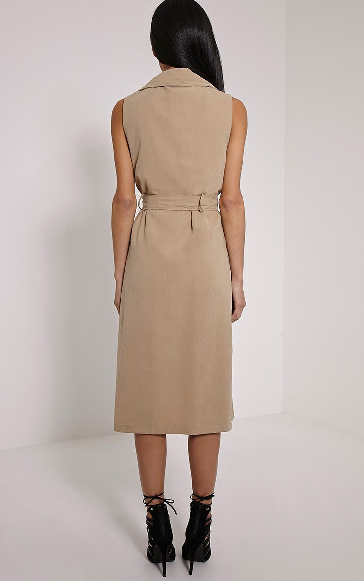 Carter Stone Sleeveless Trench 2