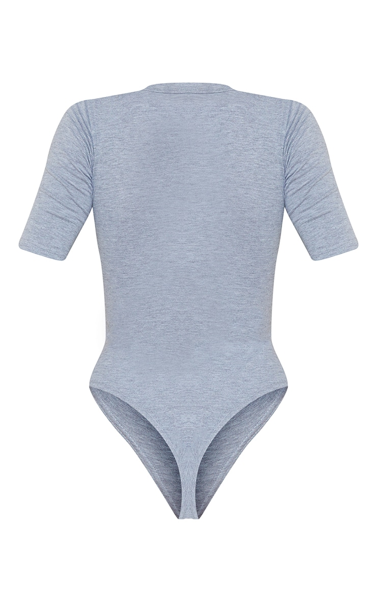 Grey Arizona University Printed Short Sleeve Bodysuit 6