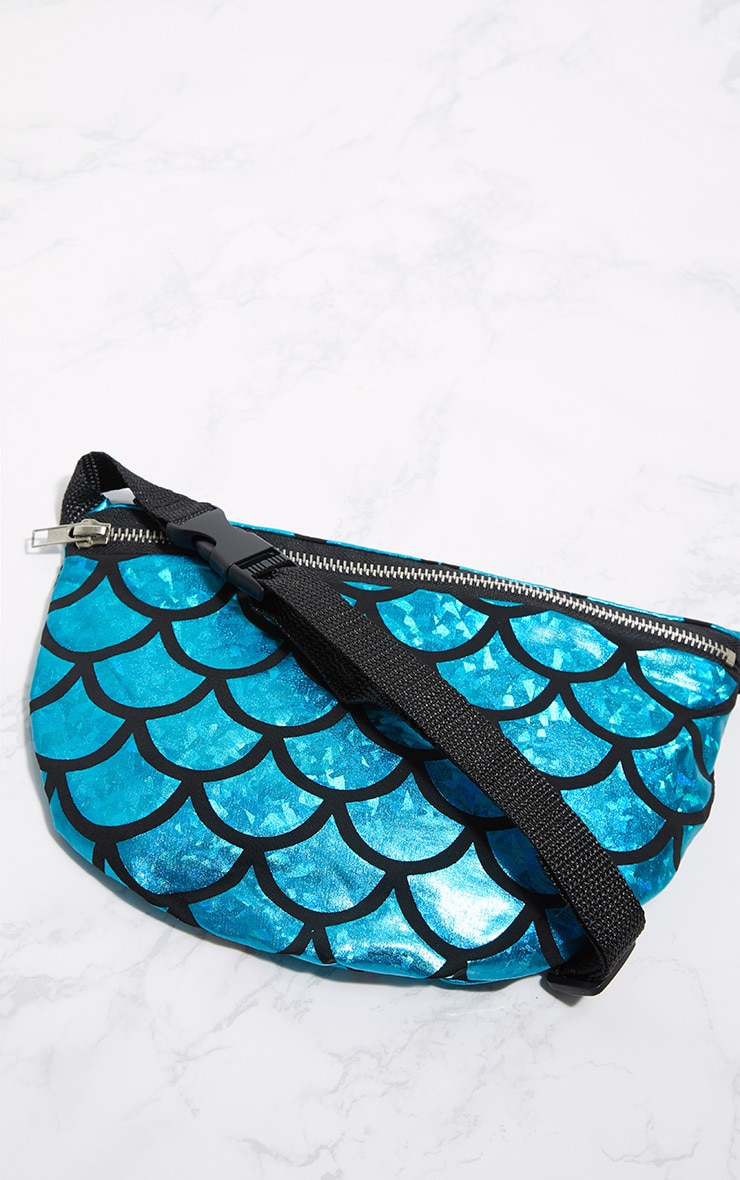 Blue Mermaid Bum Bag 3