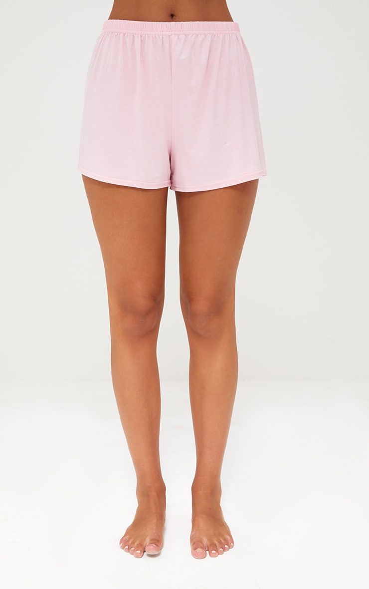 Baby Pink Sleep All Day PJ Set 4