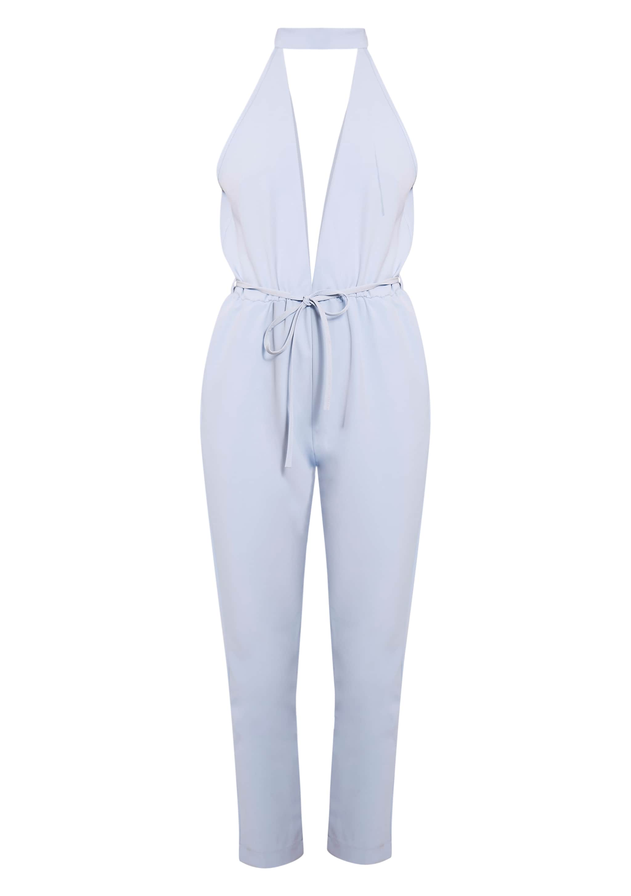 Jeena Powder Blue Cut Out Detail Jumpsuit 3