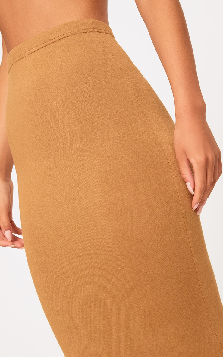 Basic Camel & Taupe Jersey Midaxi Skirt 2 Pack 5