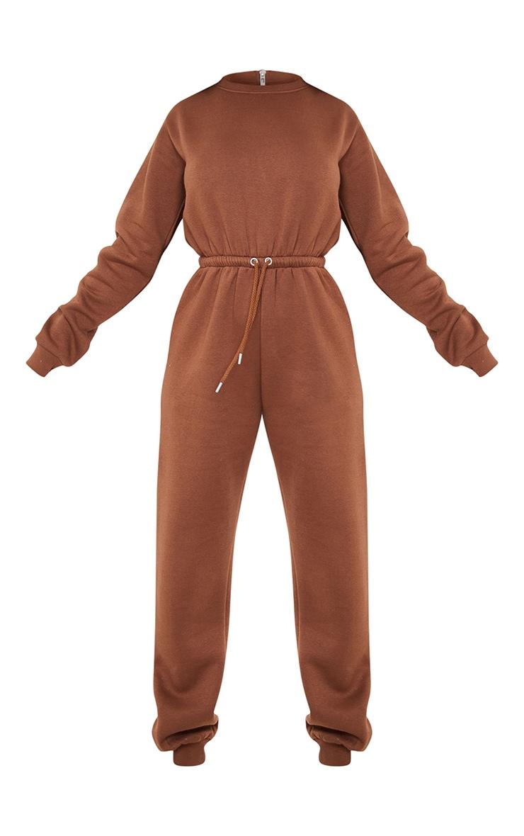Chocolate Sweat Jumpsuit 5