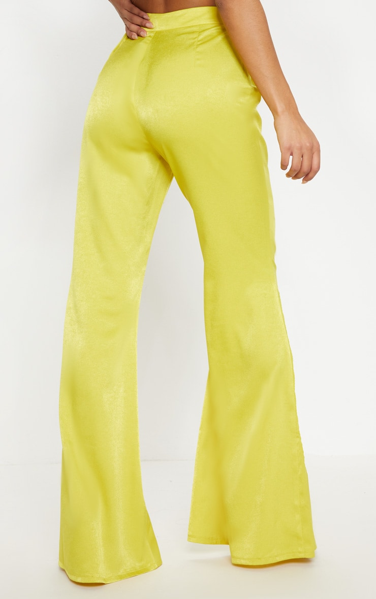 Lime Tailored Extreme Flared Trouser 4