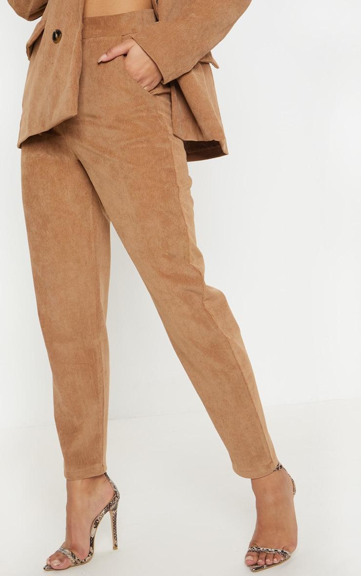Camel Cord Trouser  2