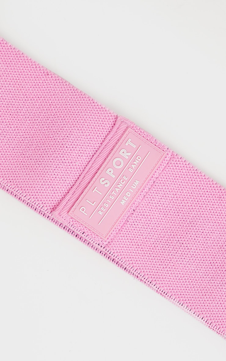 Pink Medium Resistant Band 4