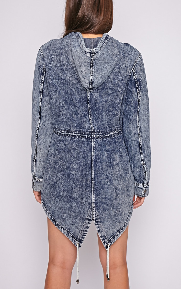 Vivian Denim Parka 2