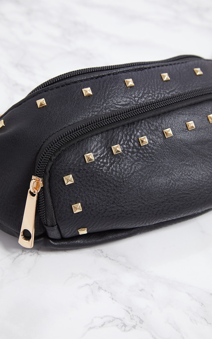 Black Stud Bum Bag 5