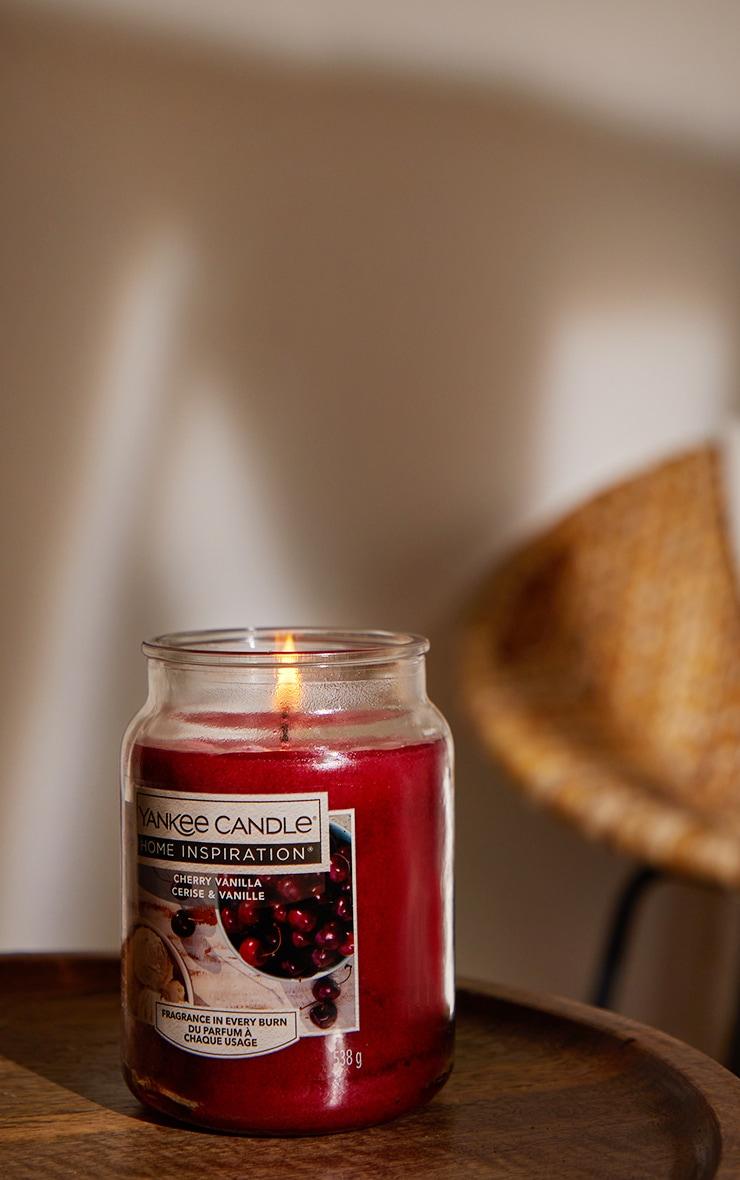 Yankee Candle Home Inspiration Large Jar Cherry Vanilla 1