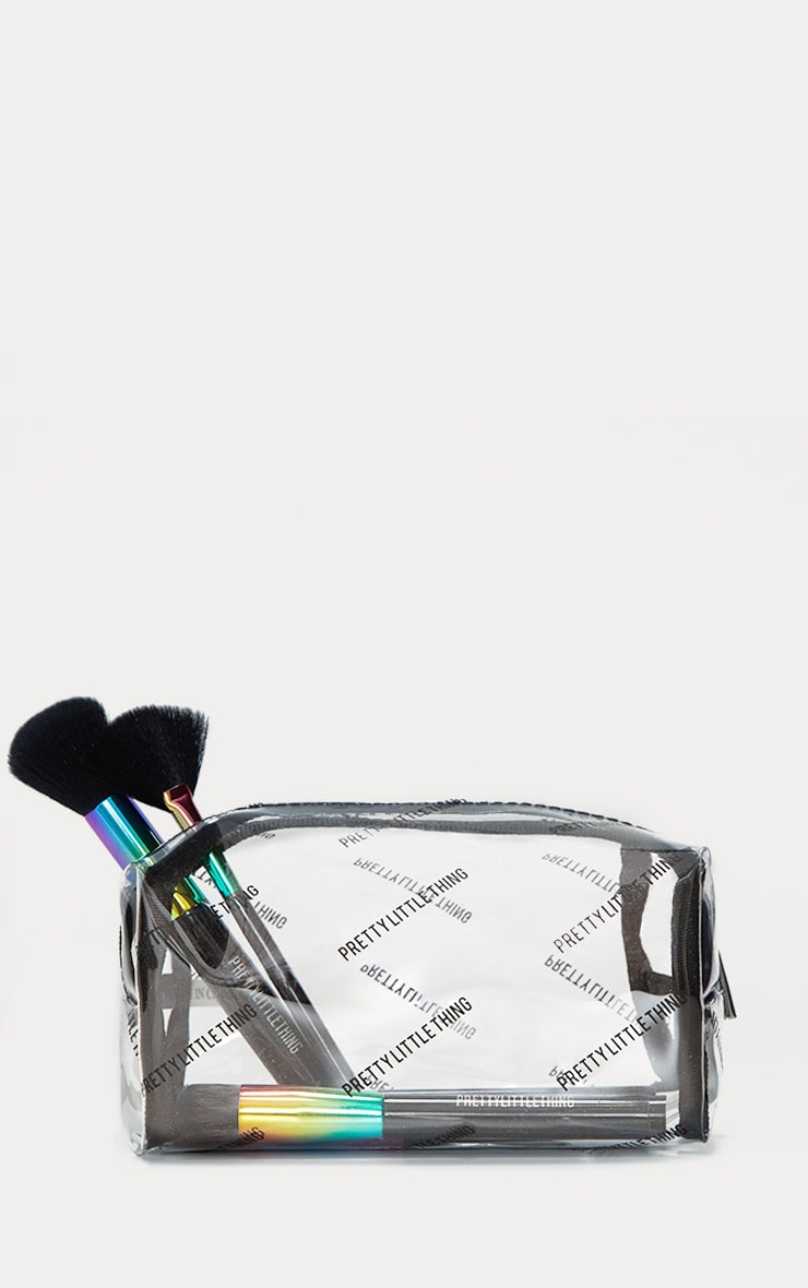 PRETTYLITTLETHING Transparent Cosmetic Bag 2