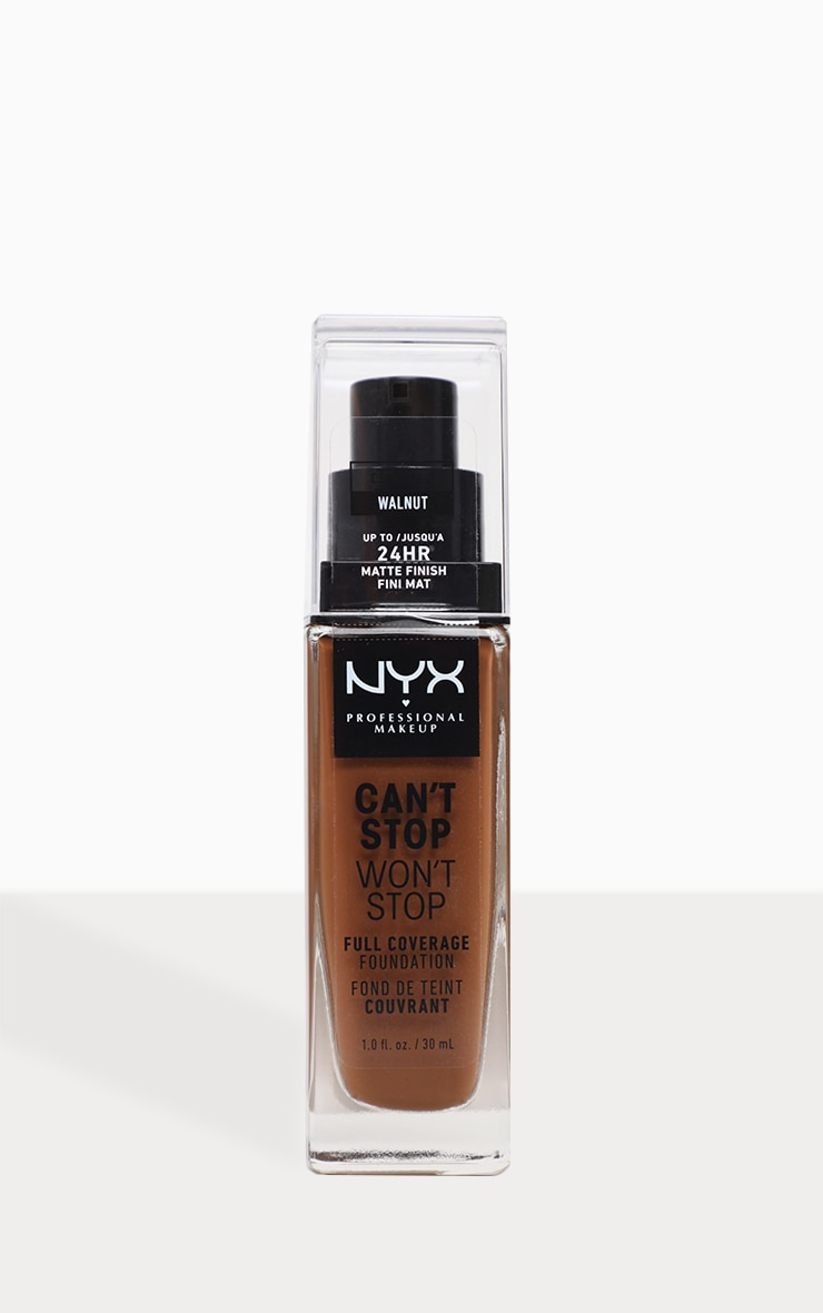 NYX PMU Can't Stop Won't Stop Full Coverage Foundation Cappuccino image 1