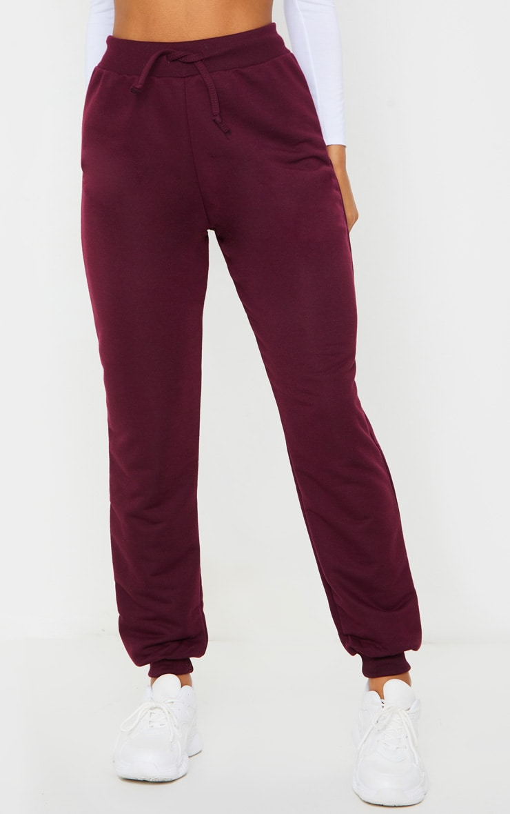 Maroon Ultimate Sweat Track Pants 2