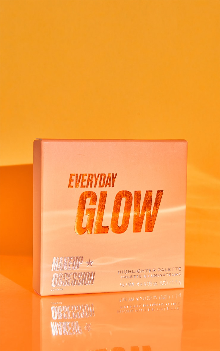 Makeup Obsession Glow Crush Palette Everyday Glow 2