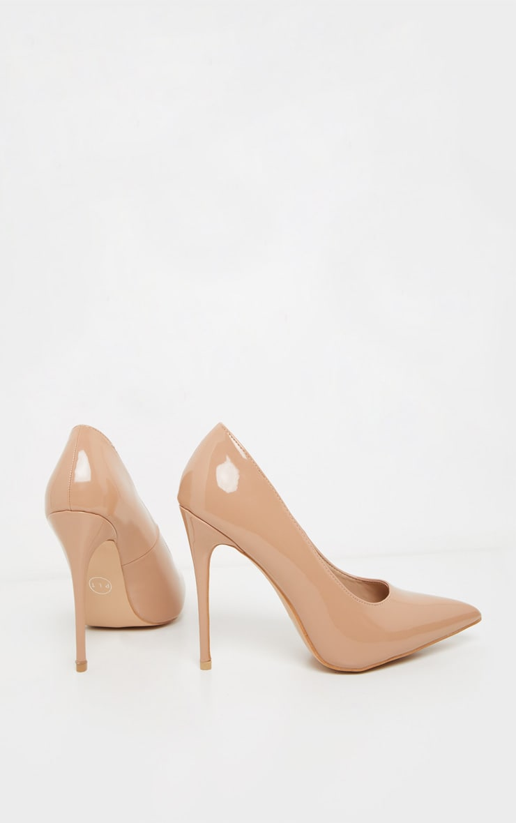 Mid Nude Court Shoes 4