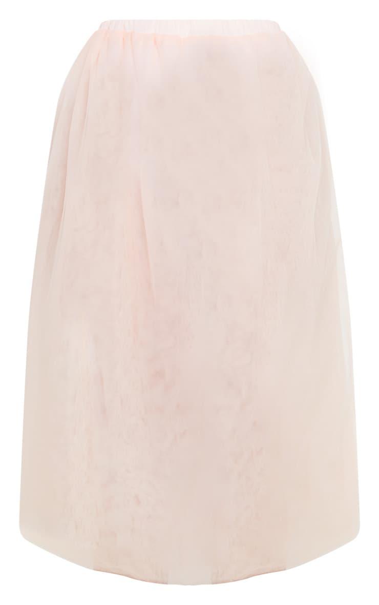 Blush Tulle Skirt 3