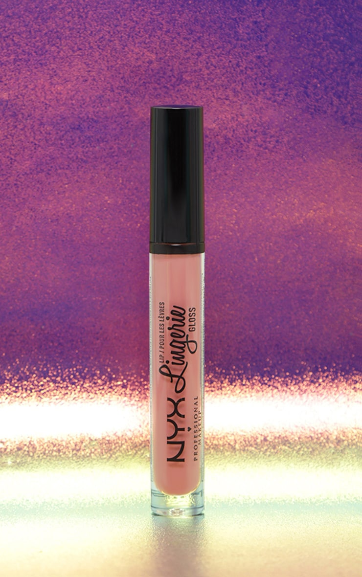NYX PMU Lip Lingerie Gloss Honeymoon 1