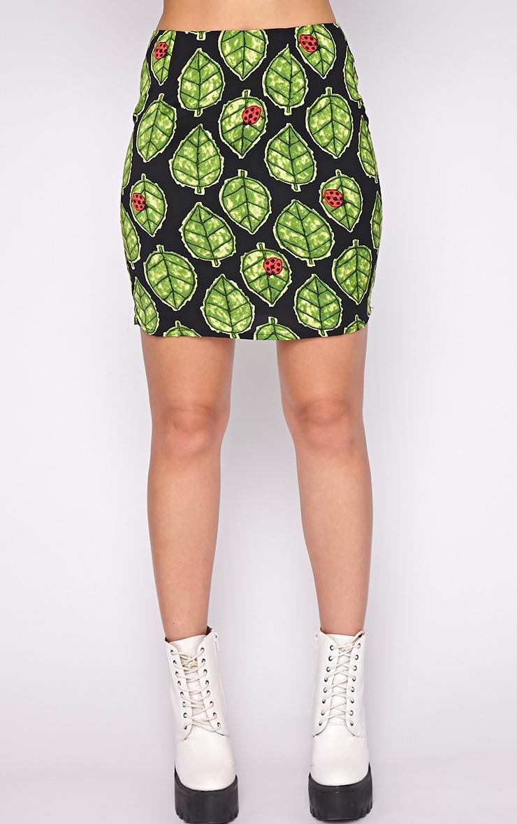 Audrey Ladybird Leaf Skirt 2