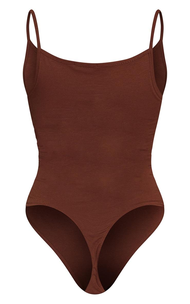 Basic Chocolate Bodysuit 6