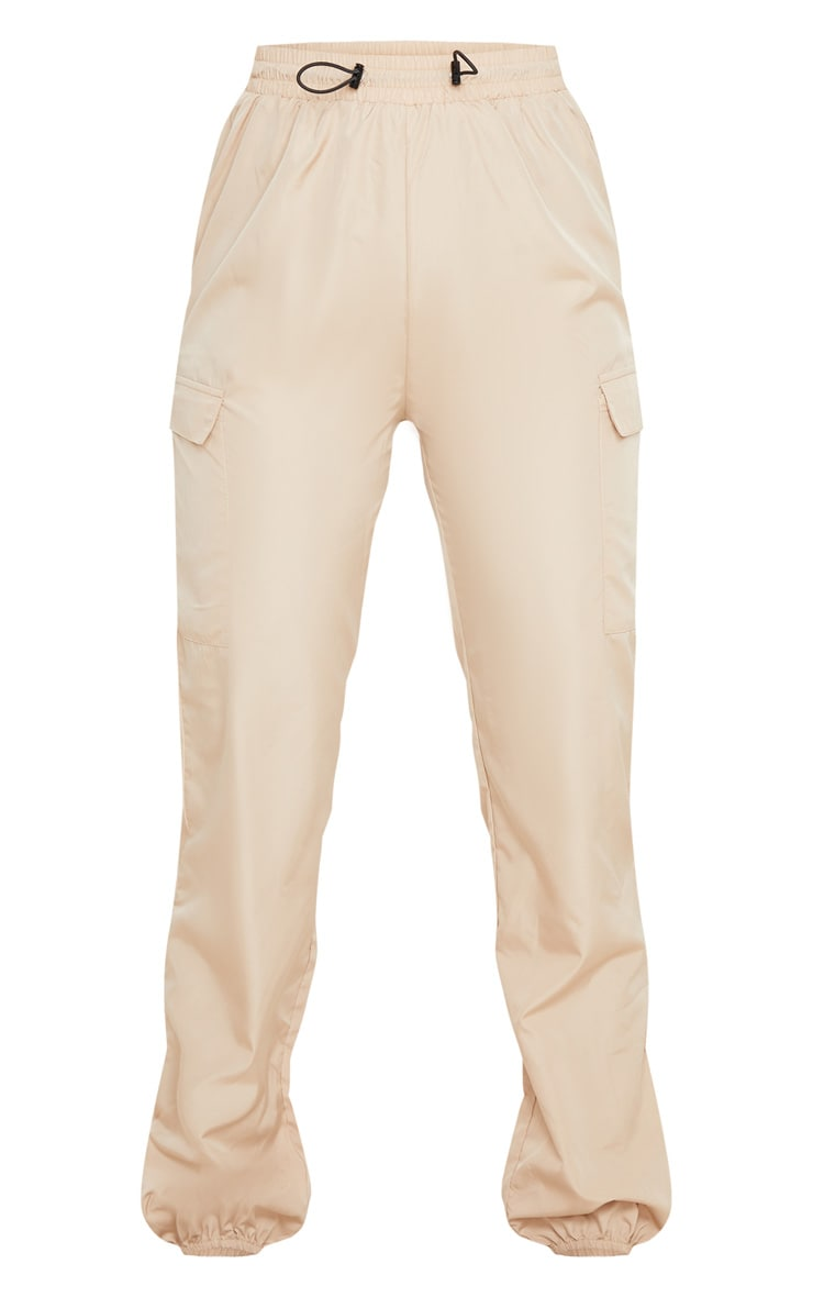 Stone Toggle Waist Shell Suit Jogger 3