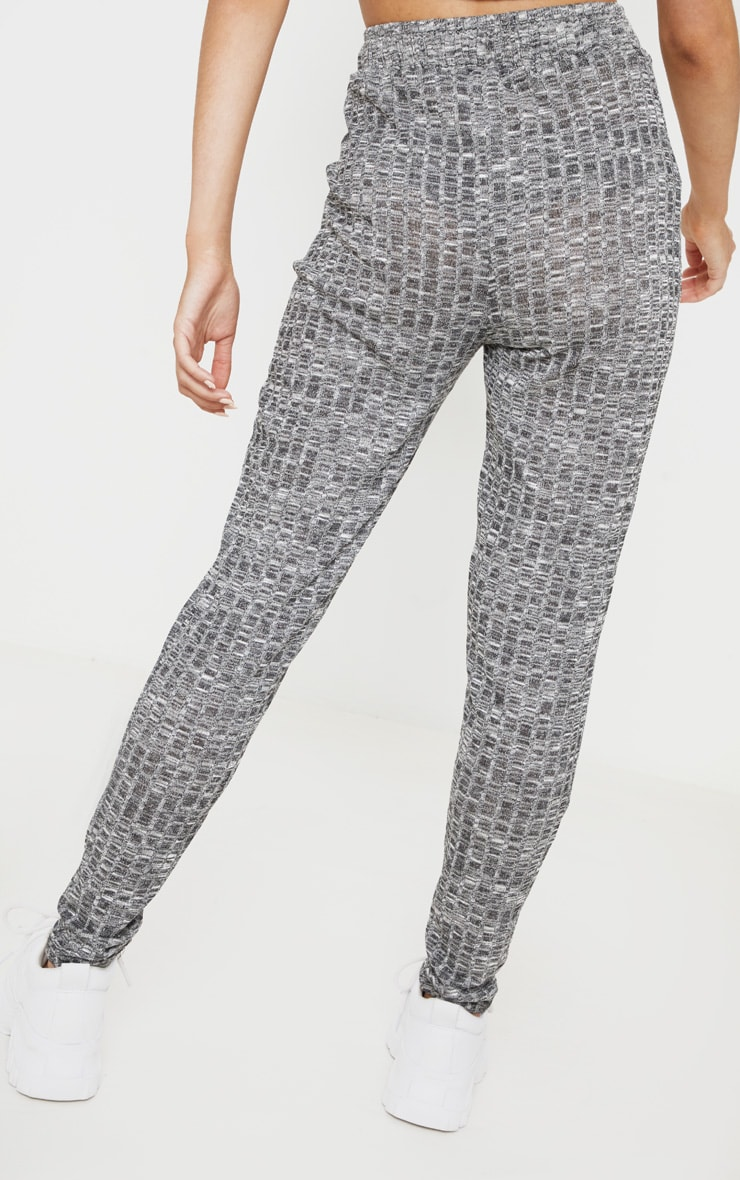 Grey Marl Mix & Match Lounge Trousers 4
