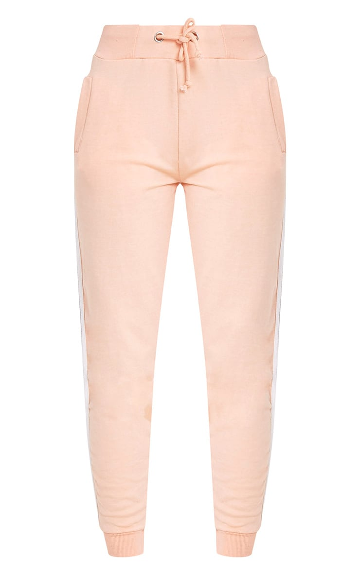 Gwen Nude Side Stripe Joggers 3