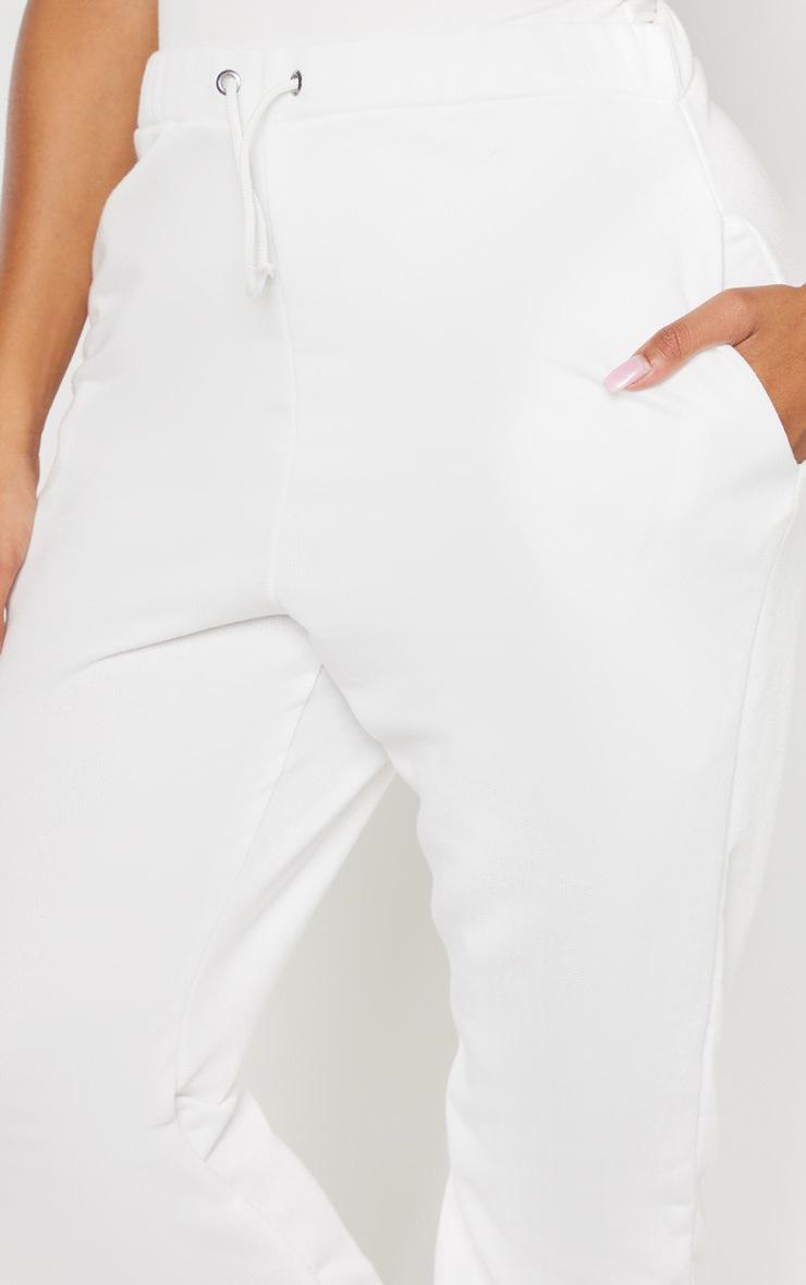 Shape Cream Skinny Drawstring Track Pants 5