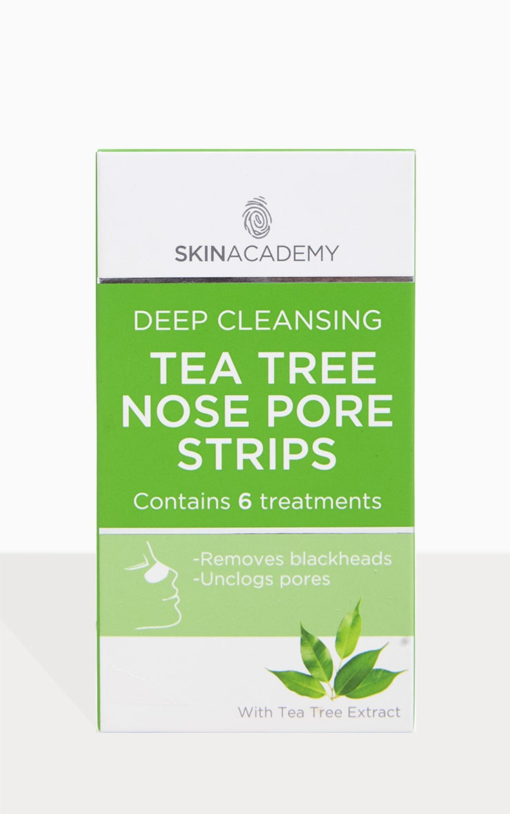 Six Pack Deep Cleansing Tea Tree Nose Strips 1