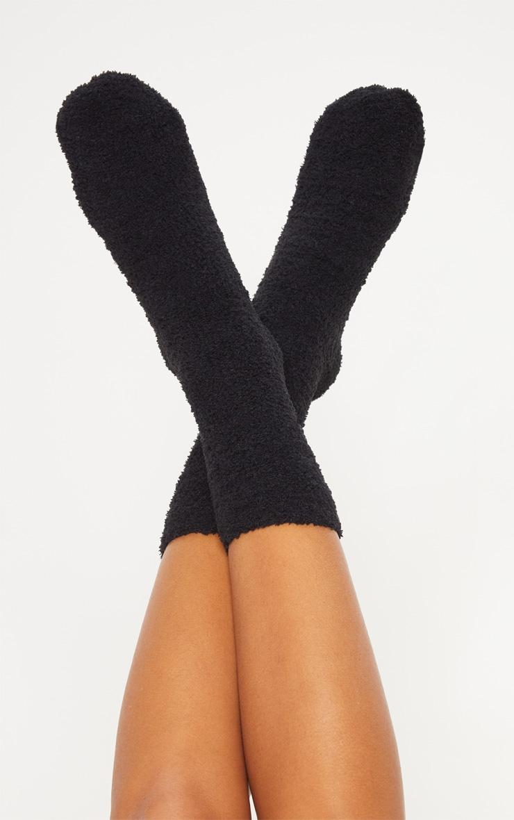 Nap Queen Black Socks & Eye Mask Set 2