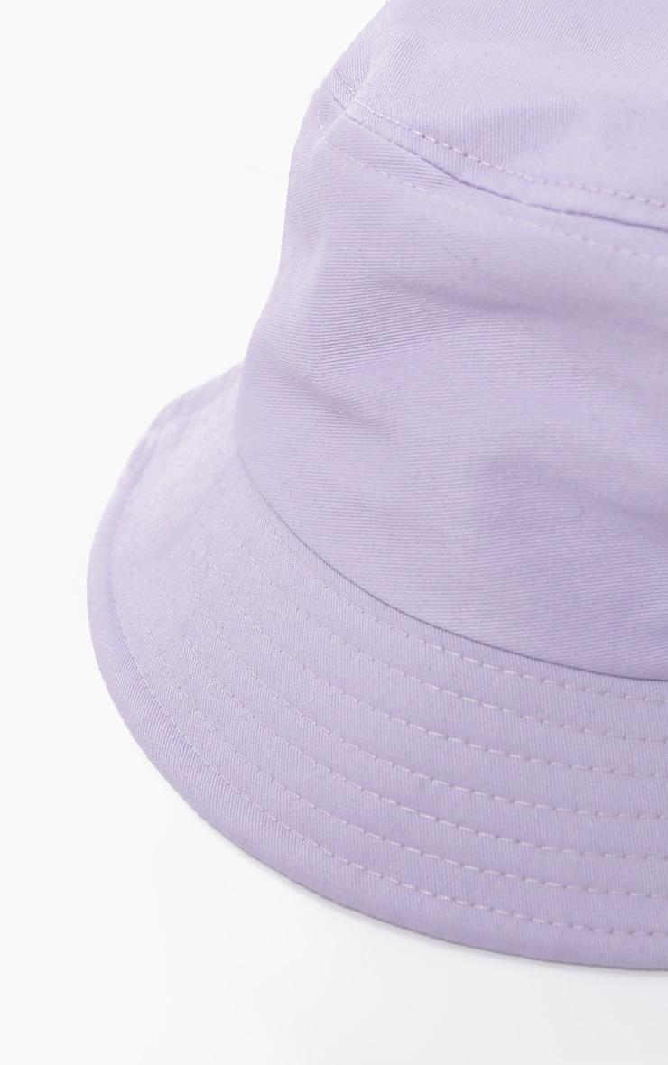 Lilac Bucket Hat 3