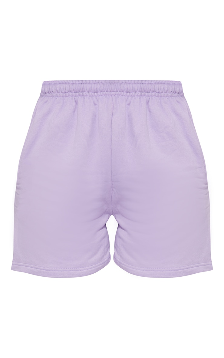 Lilac Sweat Pocket Shorts 6