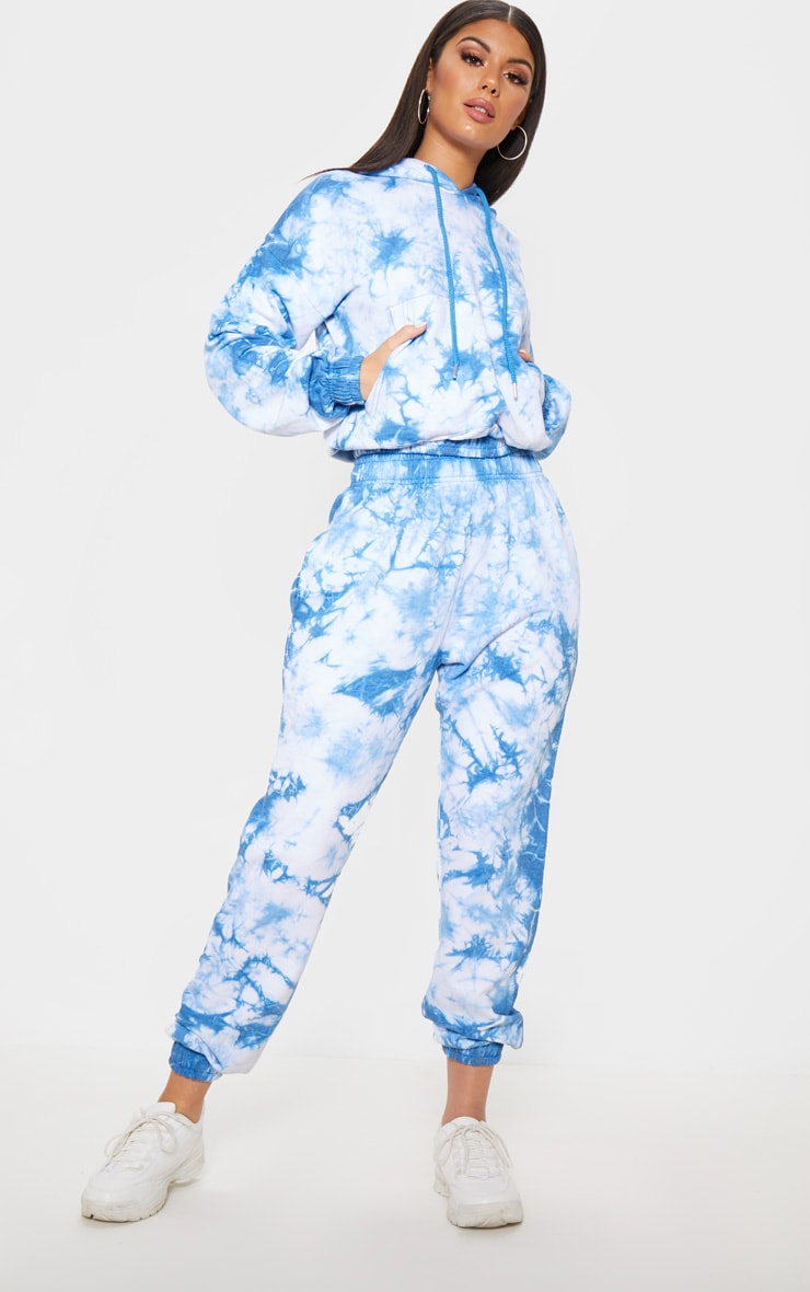 Blue Tie Dye Jogger 1