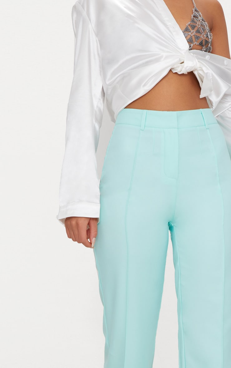 Mint High Waisted Straight Leg Pants 5