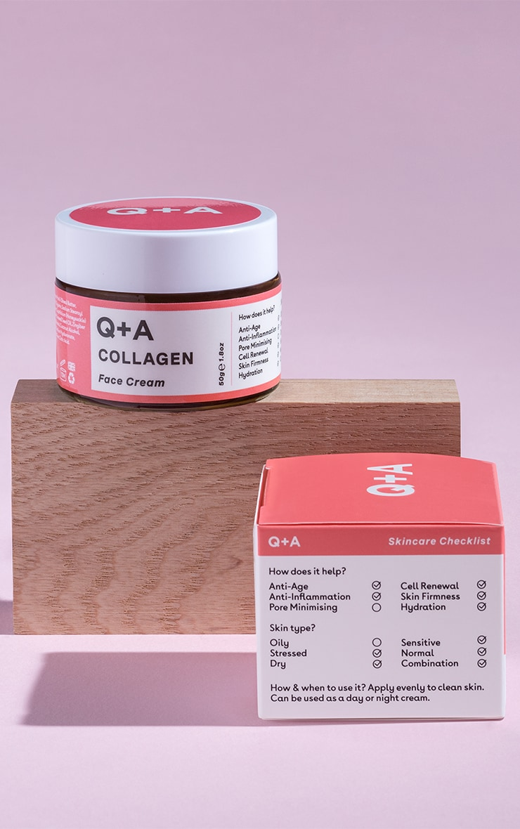 Q+A Collagen Face Cream 50g 1
