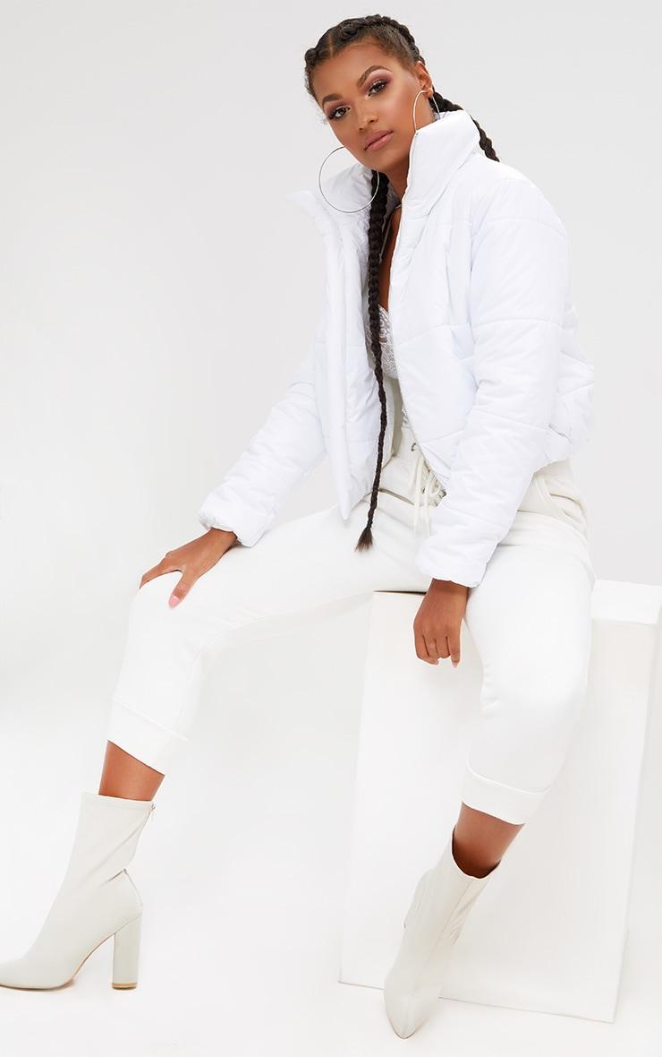 White Puffer Jacket 4