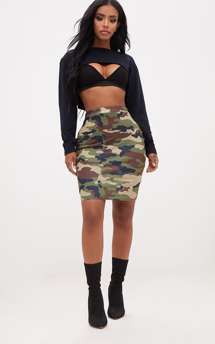 Shape Black Extreme Cropped Sweater 4